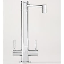 Hunley Two Handle Single Hole Bar Faucet with Lever Handle