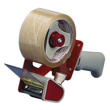 "Sealing Tape Dispenser, Adjust Tension Brake, Holds 2""W Tape"