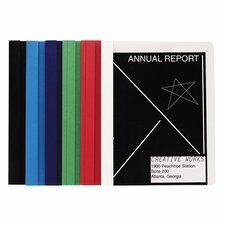 "Report Covers, w/ 3 Fasteners, 1/2"" Capacity, 25/BX, Dark Blue"