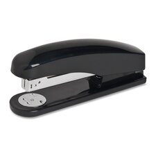 Full Strip Stapler, Staples 20 Sheets, 210 Capacity, Black