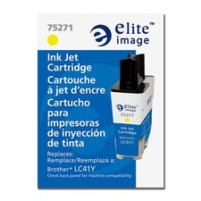 Ink Cartridge, for Brother Machines, 400 Page Yield, Yellow