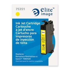 Ink Cartridge, 400 Page Yield, Yellow