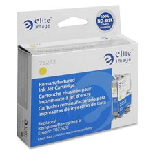 Inkjet Cartridge, For Epson C80, 420 Page Yield, Yellow
