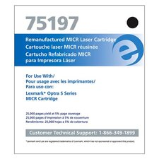 Micr Toner Cartridge, 176000 Page Yield, Black