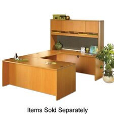 Lorell 87000 Series Laminate Desk Ensembles