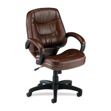 <strong>Lorell</strong> Mid-Back Lorell Westlake Series Managerial Chairs
