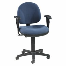 Lorell Millenia Series Pneumatic Adjustable Task Chair