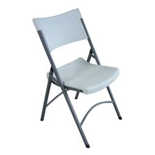 <strong>Lorell</strong> Folding Chair Platinum (Set of 4)