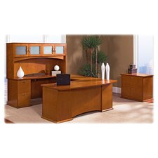 Lorell 9000 Series Veneer Office Suites