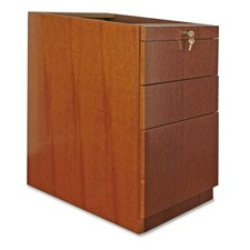88000 Series File Pedestal, Box/Box/File, Cherry