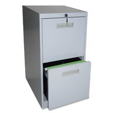 "<strong>Lorell</strong> 20"" File/File Mobile Pedestal Files, Light gray"