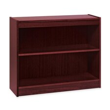Lorell High-quality Veneer Bookcases, Mahogany