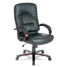 <strong>Lorell</strong> High-Back Woodbridge Series Executive Chair
