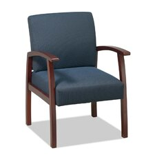 Lorell Deluxe Guest Chairs, Midnight blue