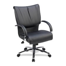 Mid-Back Leather Executive Chair