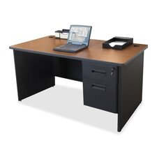 <strong>Lorell</strong> Single Pedestal Desk