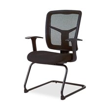 <strong>Lorell</strong> Mesh Fabric Guest Chair