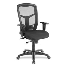 <strong>Lorell</strong> Executive High-Back Mesh Swivel Chair
