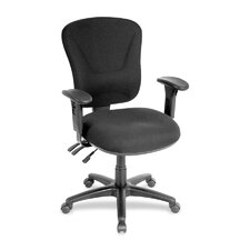 Lorell Accord Series Mid-Back Task Chair