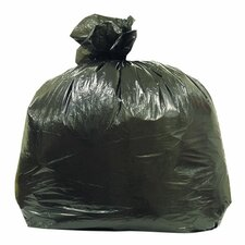 Linear Low Density Trash Liners, Black