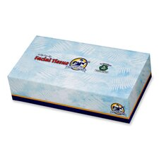 2-Ply Facial Tissue, White, 100 Sheets per Box, 30 Boxes per Carton