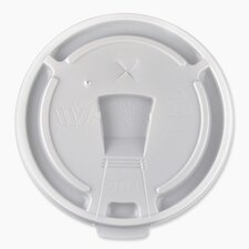 12oz-16oz Hot/Cold Cup Lids, White