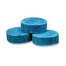 <strong>Genuine Joe</strong> Toss Blocks w/Blue Dye, Non-Para, 12/PK, Cherry Scent/Blue