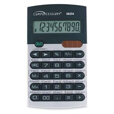Compucessory 10-digit Metric Conversion Calculator, Black