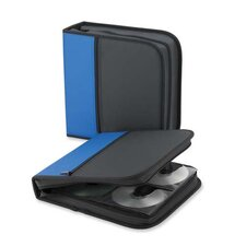 Compucessory CD/DVD Wallet, Blue/black