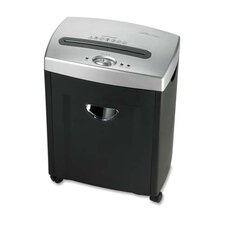 Compucessory 6-Sheet Micro-Cut Shredder, Charcoal gray