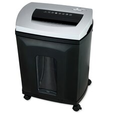 Compucessory Small Office Cross Cut Shredder, Gray