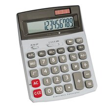 <strong>Compucessory</strong> Compucessory 12-Dgt Dual Power Desktop Calculator, Light gray