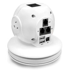 Laptop Surge Protector, White