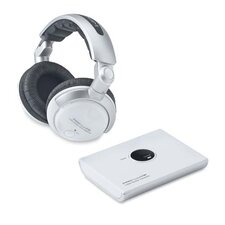 <strong>Compucessory</strong> Compucessory 2.4 GHz Wireless Headphones, White