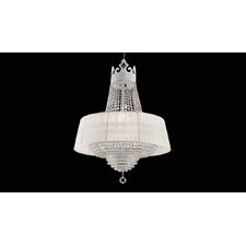 <strong>Vintage</strong> Crown Crystal Chandelier