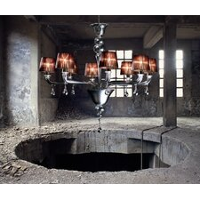 <strong>Vintage</strong> Agata 8 Light Chandelier