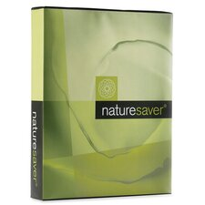 <strong>Nature Saver</strong> Recycled Multipurpose Paper, Letter, 92 Brightness, 20 lb, 5000 Sheets/Carton, White