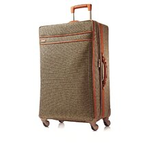 "Tweed Belting 30"" Spinner Suitcase"