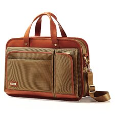 Intensity Belting Two Compartment Briefcase