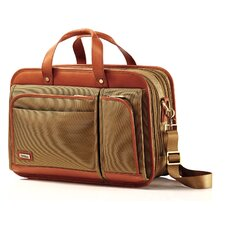 Intensity Belting Three Compartment Briefcase