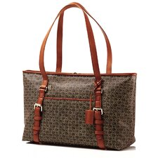Wings Belting Laptop Satchel