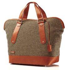 Tweed Belting Weekender Tote Bag