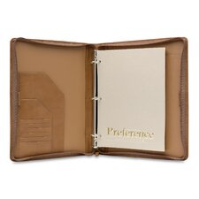 <strong>Hartmann</strong> J Hartmann Reserve Zip Three-Ring Binder in Natural