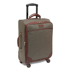 "<strong>Hartmann</strong> Wings 20"" Expandable Mobile Traveler Spinner in Cognac"