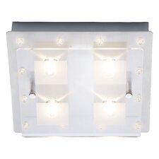 LED-Deckenleuchte 4-flammig Stars