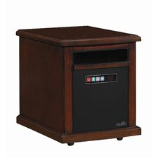 Colby 1,500 Watt Infrared Cabinet Power Space Heater with Adjustable Thermostat