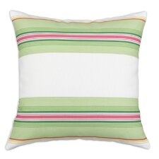 <strong>Chooty & Co</strong> Saxony Andari Stripe Multi-Saxony 3 Pieced Horizontal  Cotton Pillow