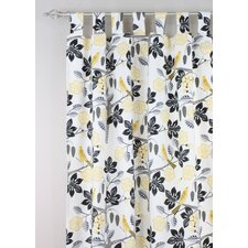 Small Talk Blackbird Rod Pocket Curtain Panel