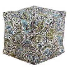 Paisley Beads Footstool Ottoman