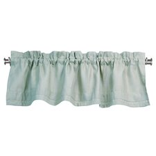 <strong>Chooty & Co</strong> Circa Solid Rod Pocket Tailored Curtain Valance